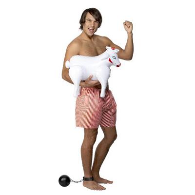 pecorella gonfiabile idea regalo per addio al celibato