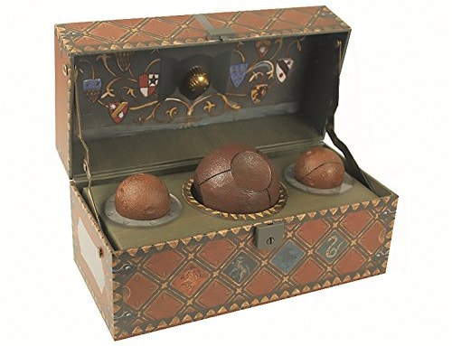Collectible Quidditch Set di harry potter