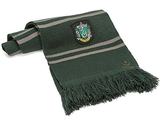 Sciarpa Ufficiale Casa di SERPEVERDE Slytherin - Originale Cinereplicas