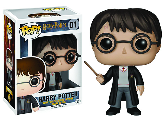 Statuina stilizzata bobble Head di Harry Potter di Funko Pop