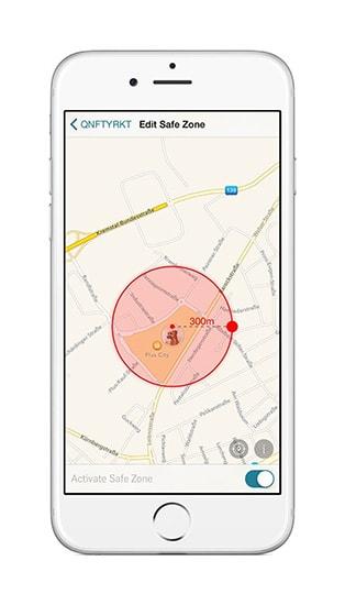 applicazione su smartphone per rilevare con gps la posizione del tuo cane o gatto in tempo reale