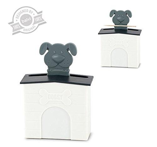il porta stuzzicadenti a forma di bulldog