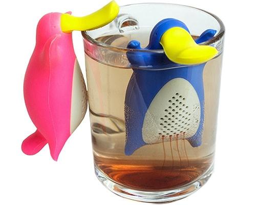 Infusore per tè e tisane a forma di Ornitorinco