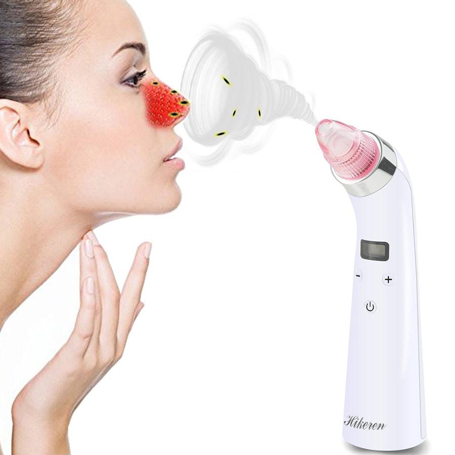 pulitore del viso e aspiratore pori